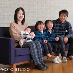 家族写真 記念日 赤ちゃん誕生記念