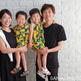家族写真 ファミリーフォト