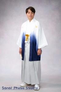 成人式前撮り 羽織袴