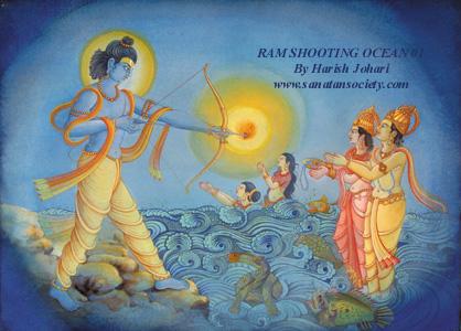 Sri Ram threatens Ocean.