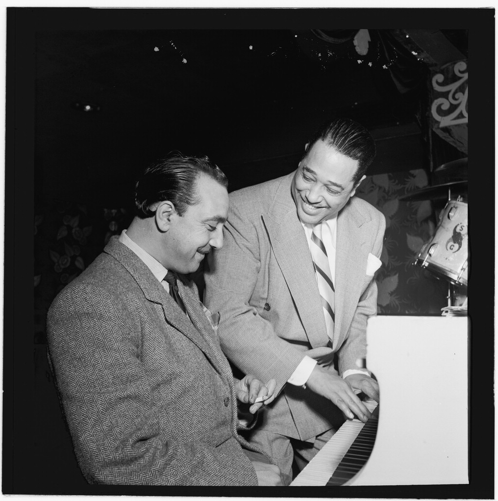 Django Reinhardt ile Duke Ellington, New York, 1946