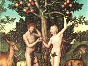 Resim 18: yılan, Adem ve Havva