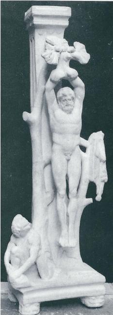 Manisa Müzesi'ndeki Marsyas heykeli
