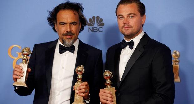 Diriliş filmi Altın Küre Ödülleri'ne damgasını vurdu.