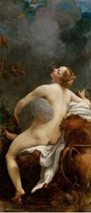 Antonio Allegri Correggio - Zeus ve İo