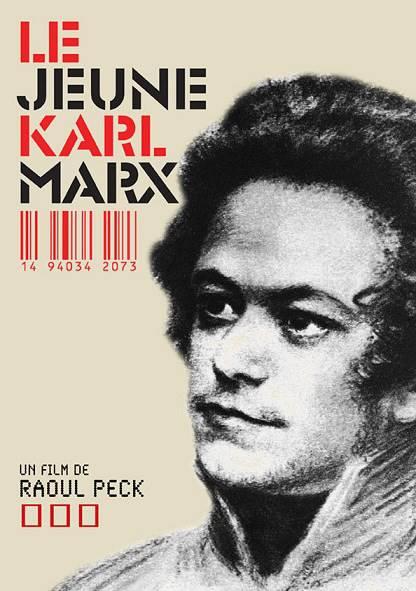 Le jeune Karl Marx filminin afişi.