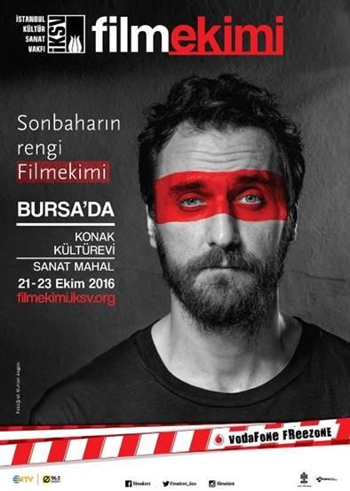 Filmekimi 2016, 21 - 23 Ekim tarihlerinde Bursa'da olacak.