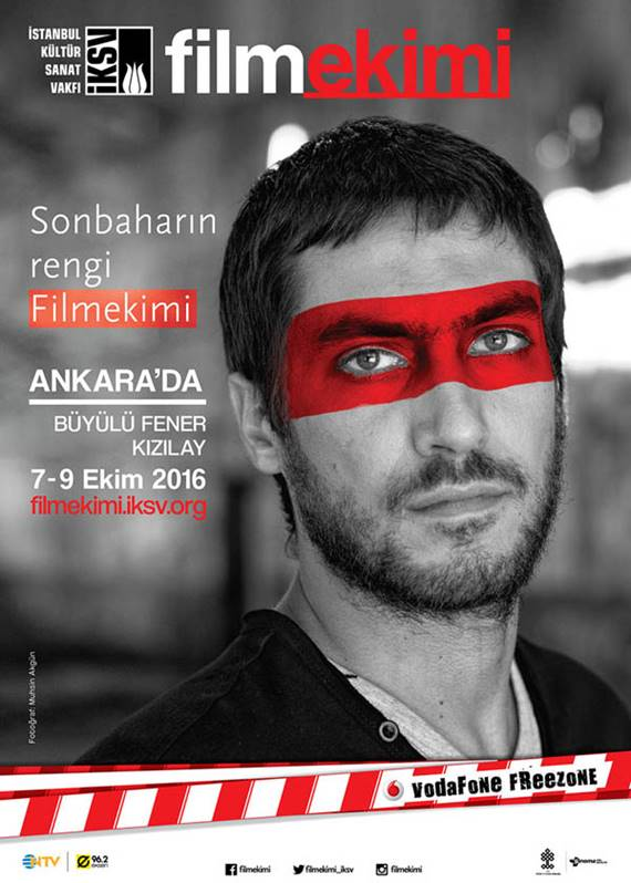 Filmekimi 2016, 7-9 Ekim'de Ankara'da olacak.