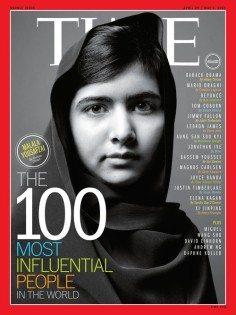 MALALA YUSUFZAY, 2014 Nobel Barış Ödülü'nü Hindistanlı aktivisit Kailash Satyarthi ile birlikte almaya hak kazanır.