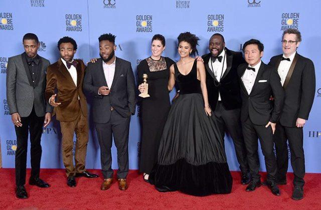 2017 Altın Küre Ödülleri gecesi çok renkli geçti.