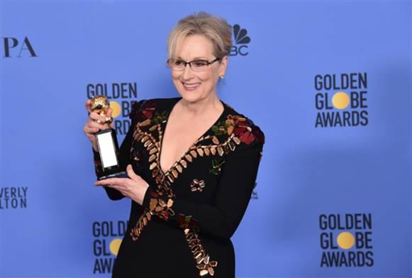 Yaşam boyu onur ödülü Meryl Streep'in oldu