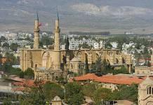 St. Sophia Katedrali (Selimiye Camii), Kuzey Lefkoşa-Solda (1209-1326)