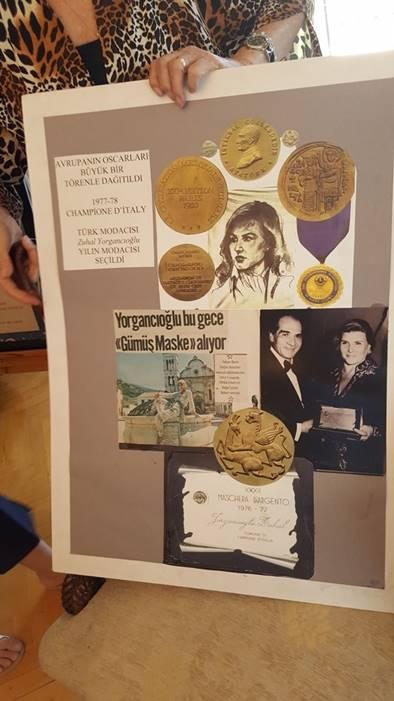 Zühal Yorgancıoğlu Gümüş maske Ödülüne Layık Görüldü