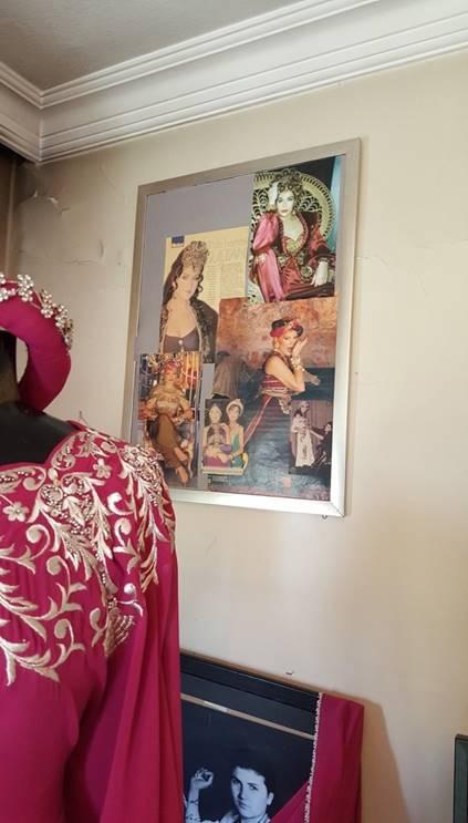 Zuhal Yorgancıoğlu tasarımı bir elbise