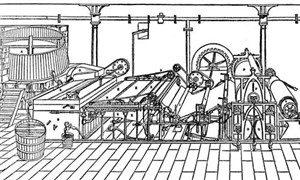 Fourdriniert makinesi