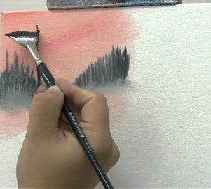 Yelpaze fırçalar, değişik katman ve efektlerin oluşturulması konusunda etkin çözümler sunar.