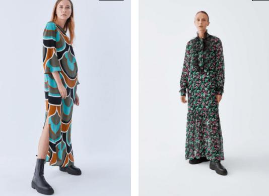 Mevsimlik Uzun Elbise Modelleri
