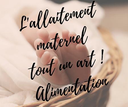 allaitement maternel alimentation