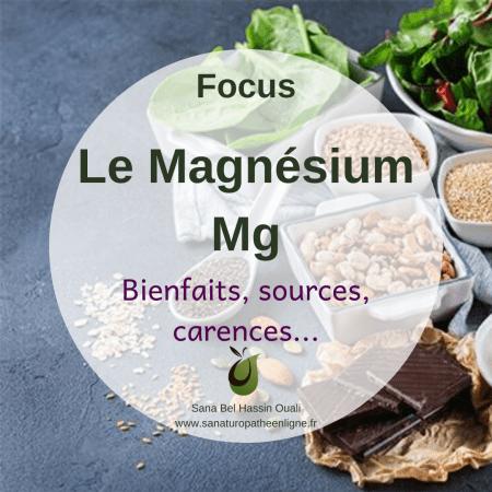 Magnésium bienfaits naturopathie