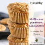 Muffins aux pommes et aux carottes
