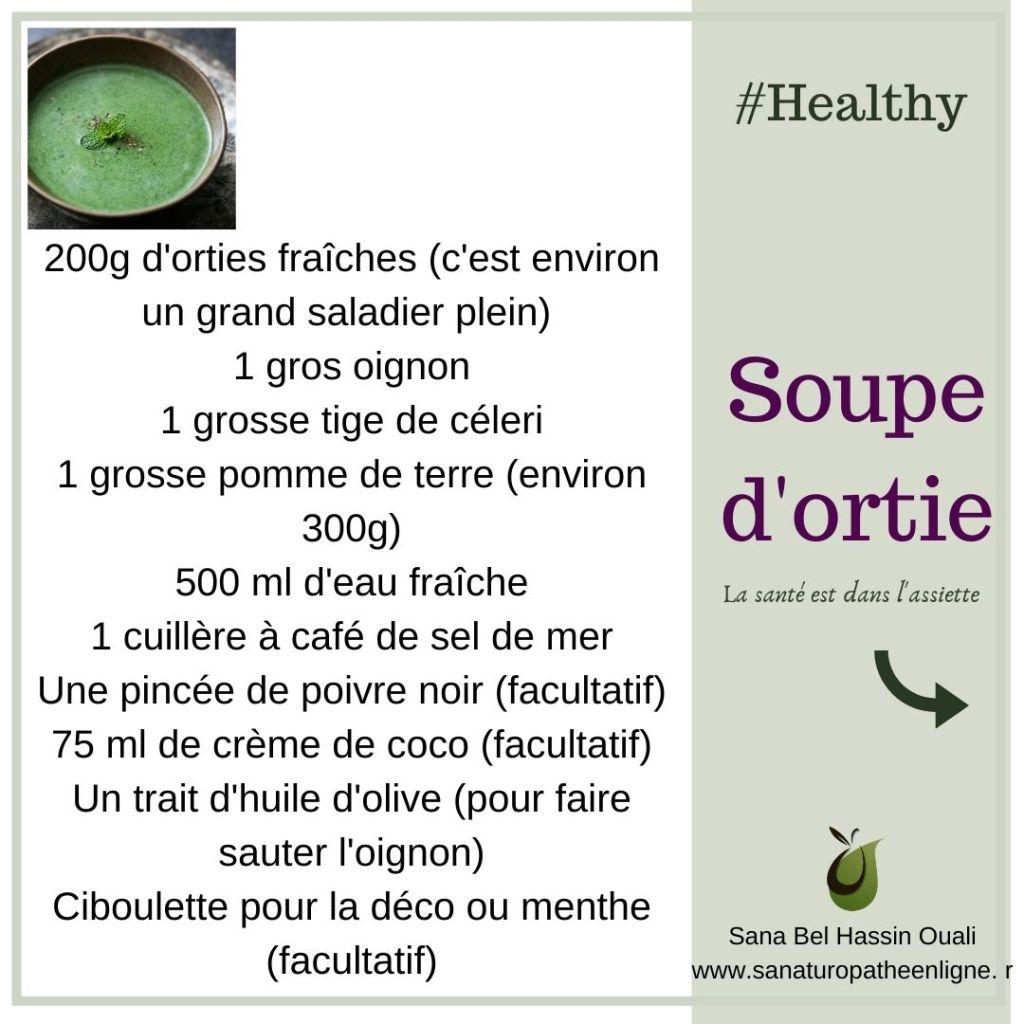 ingrédient soupe d'ortie