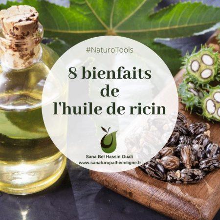 8 bienfaits de l'huile de ricin