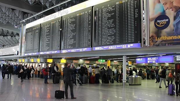 Frankfurt Havalimanı'na koronavirüs etkisi