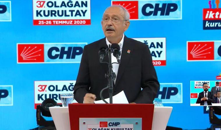CHP Kurultayında başkanlık seçimi tamamlandı