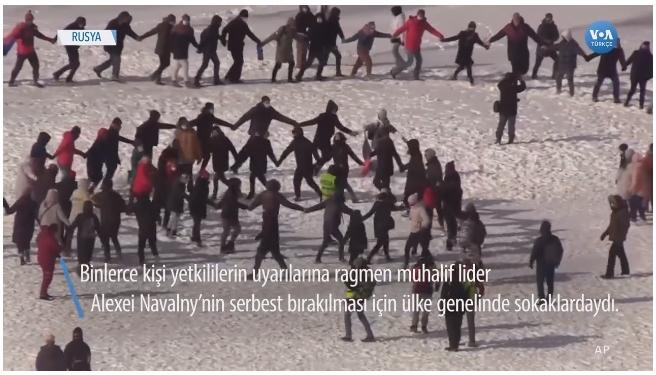Rusya'da 4 bin gösterici gözaltında