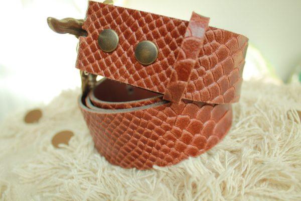 Accessoires ceinture BUFFALO cuir mode sanbaya.fr