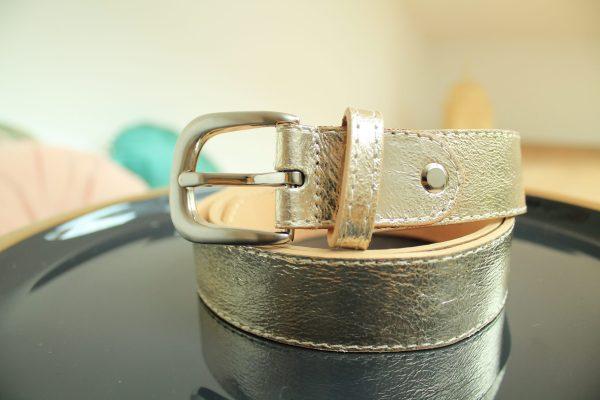 Accessoires ceinture GOLD cuir mode sanbaya.fr