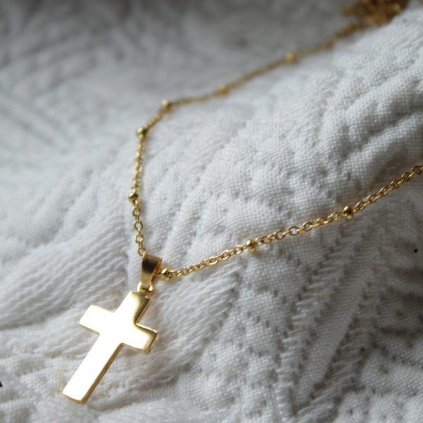 Collier croix CHIESA bijoux SANBAYA.FR Bijouterie