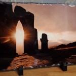 Custom Photo Rock Slate 20 x 30cm