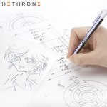 Hethrone Soft Painting Eraser Flat / Super Fine Rubber Tip Pen Type professional high precision Pencil eraser For Manga Highligh