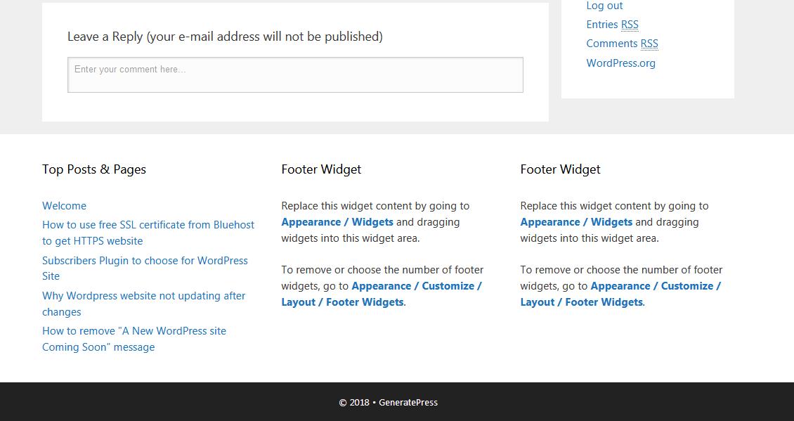 Wordpress changes not updating