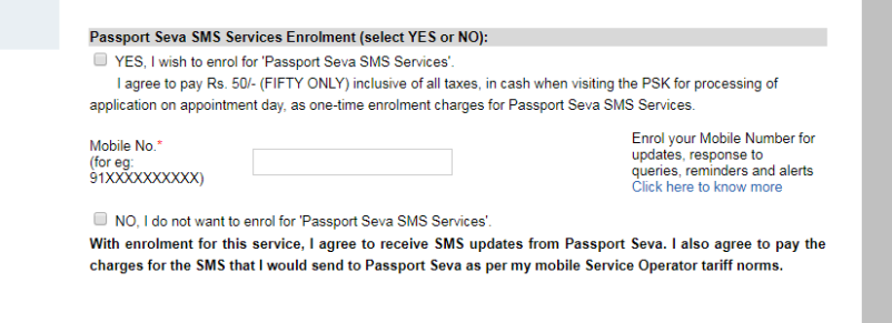6 Benefits of enrolling for Passport Seva SMS Services
