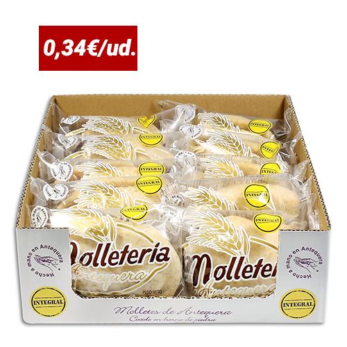 cajas de molletes integrales