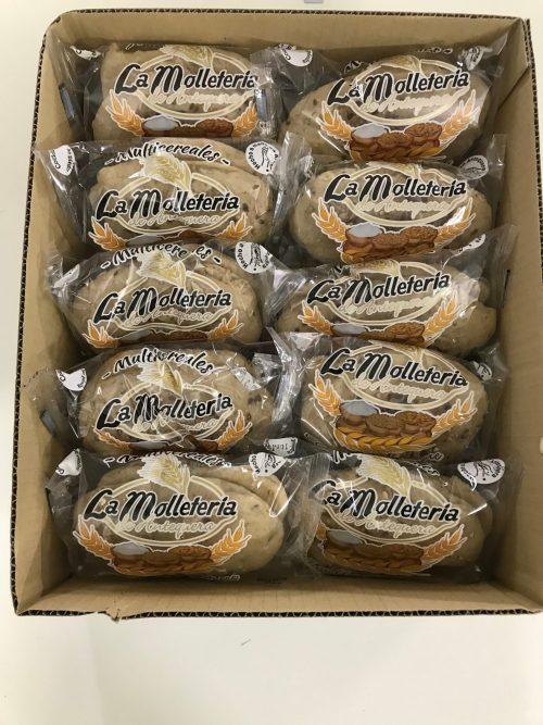Caja de molletes