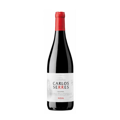 botella de vino crianza