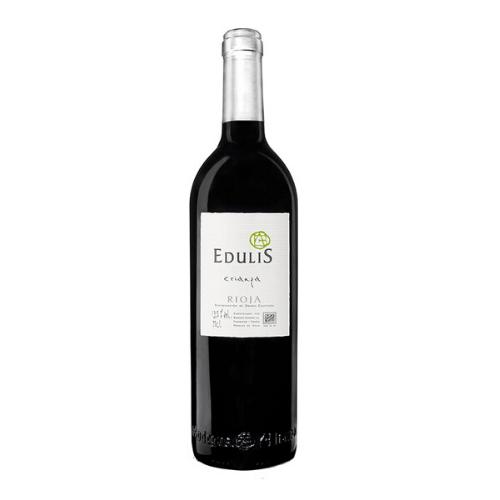 botella de vino edulis crianza