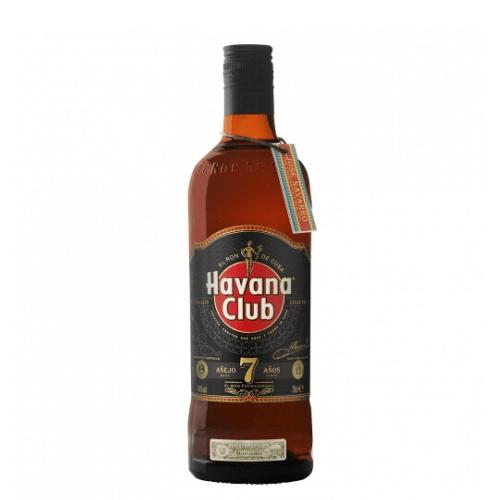 Botella de ron havana