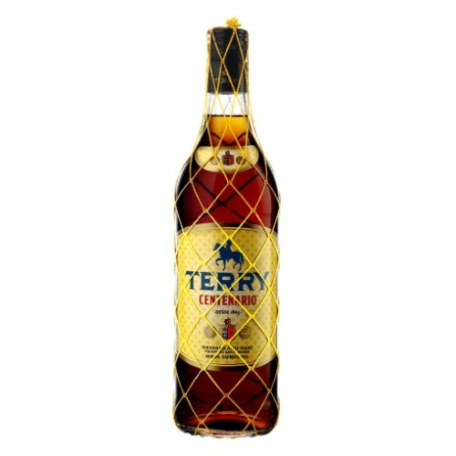 Botella de brandy Terry
