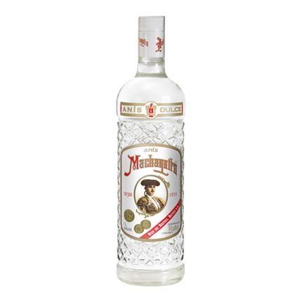 Botella de anís dulce Machaquito