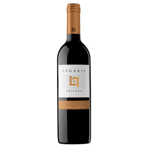 botella de vino tinto crianza