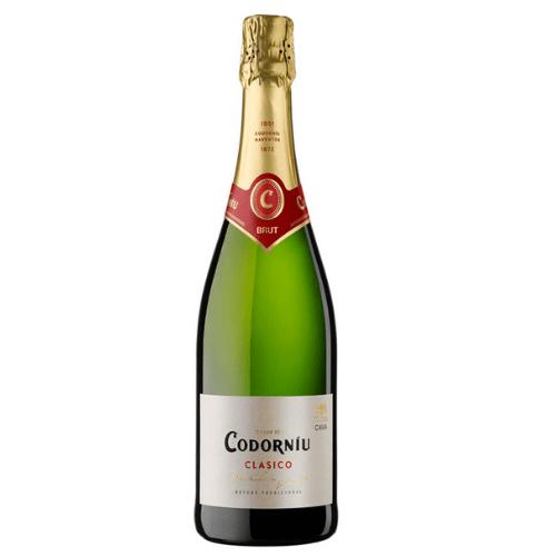 Botella de Codorniu clasico