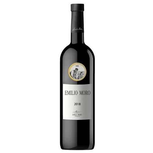 Botella de vino Emilio Moro