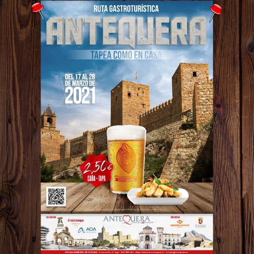 Cartel ruta Antequera