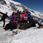 Expedícia Trek okolo Annapurny prešla cez sedlo Thorong La