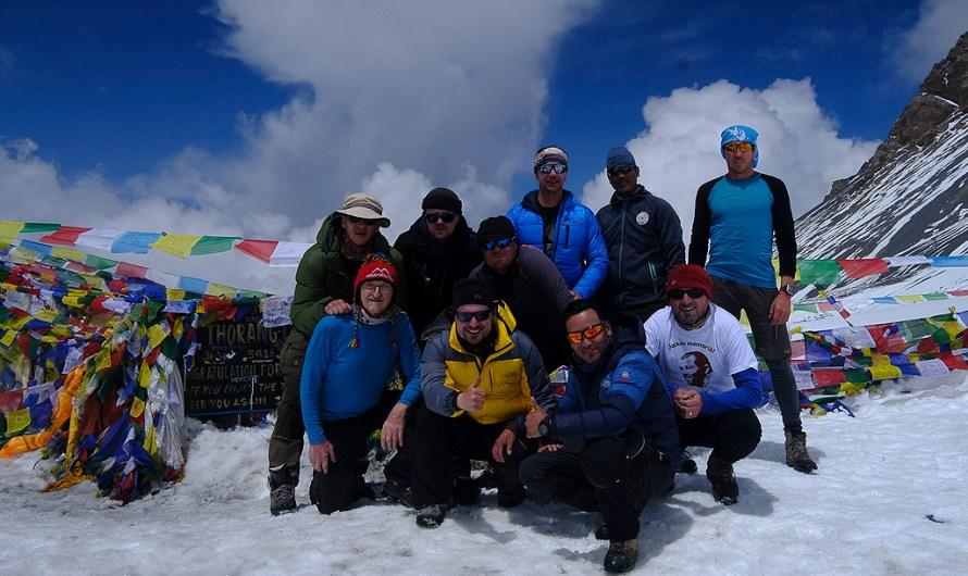 Prvý tohtoročný prechod cez sedlo Thorong La v Nepále!!!!!
