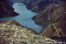 Nórsko - NP Jotunheimen 3 krát naj - letecky